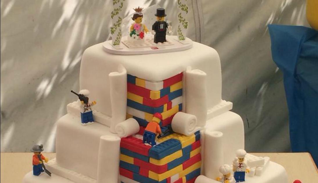 Lego Wedding Cake Puts Small Bakery On World Stage