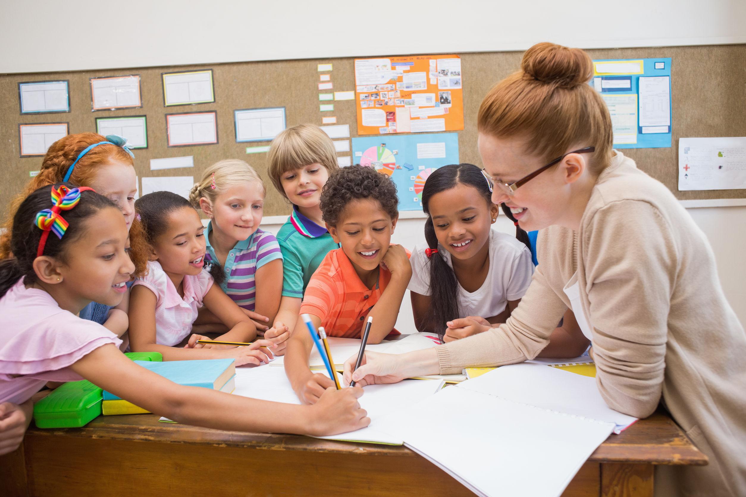 Картинки учителя и дети школа