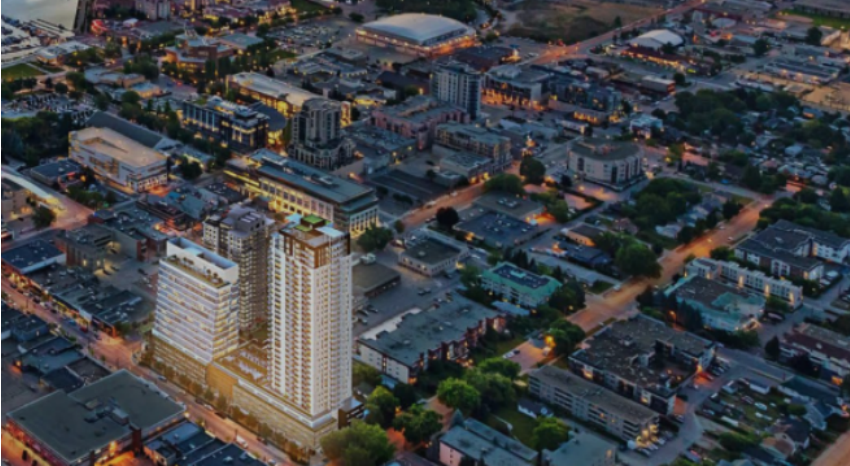 City supports development permits for 17 and 34 storey Bernard buildings