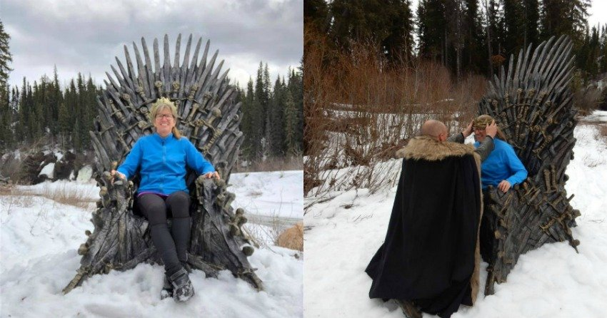 Photos Couple Finds One Of Six Hidden Iron Thrones In Northern Bc