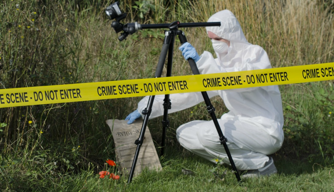 what restrictions apply to a crime scene investigator with regard to a body within the crime scene