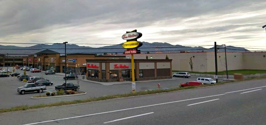 tim hortons robbed in west kelowna. Black Bedroom Furniture Sets. Home Design Ideas