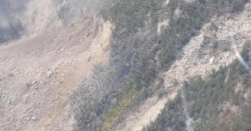 Massive landslide in Northern BC prompts evacuation
