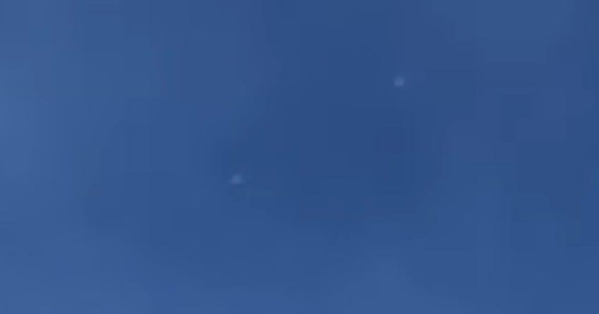 VIDEO: Strange silver spheres caught buzzing in Kelowna airspace