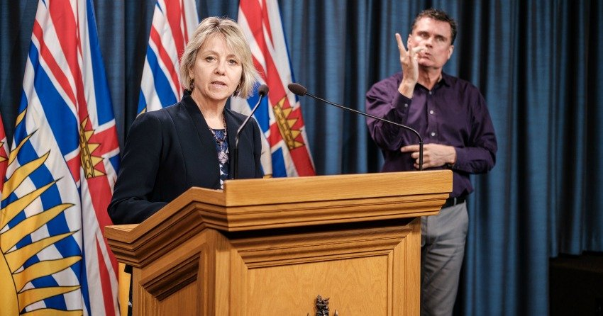 BC sets another record high with 617 COVID-19 cases in 24-hours