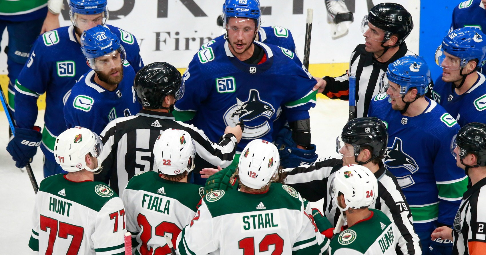 Pre-noon start for Canucks-Wild game 3 as both teams look to take stranglehold on series