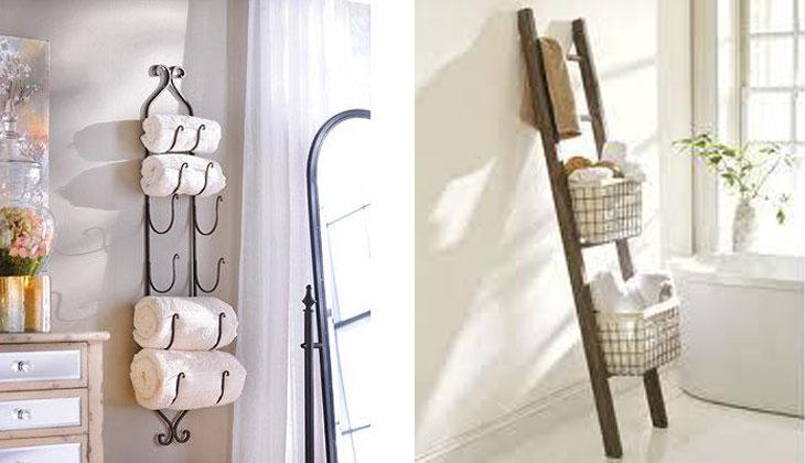 Stylish Ways To Display Bathroom Towels