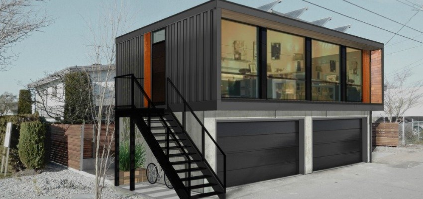 Chic Shipping Container Living Comes To Kelowna