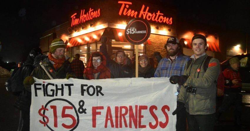 Ont. premier criticizes Tim Hortons franchise owners: Workers aren't 'pawns'