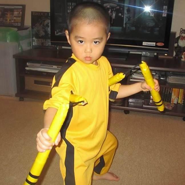 Bruce Lee Nunchuck Kid Video