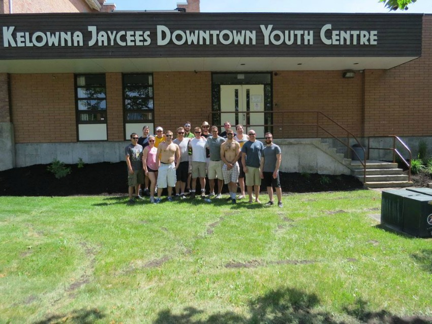 <who> Photo Credit: Kelowna Jaycees. </who> The Kelowna Jaycees, before accepting female members.