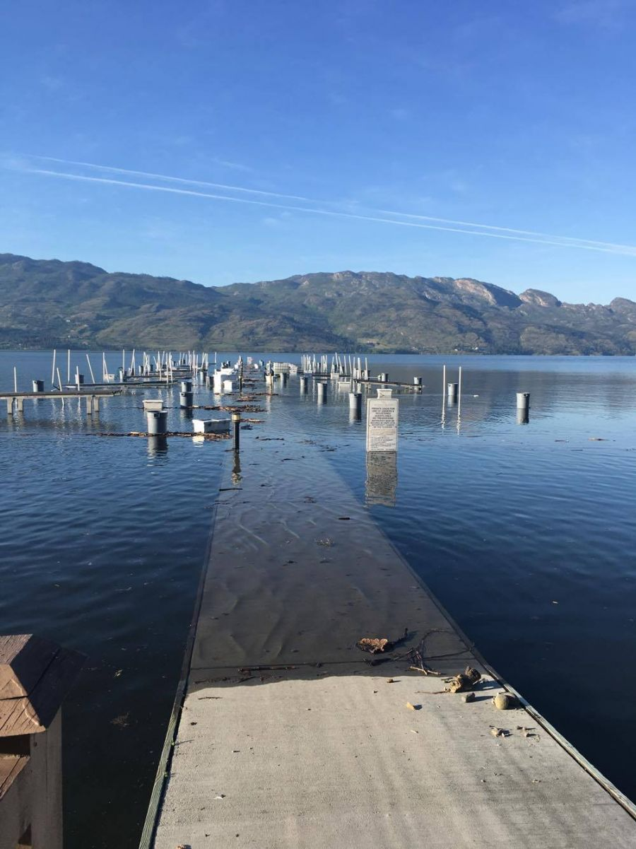 Photo credit: Denise Armstrong - Barona beach dock (West Kelowna)