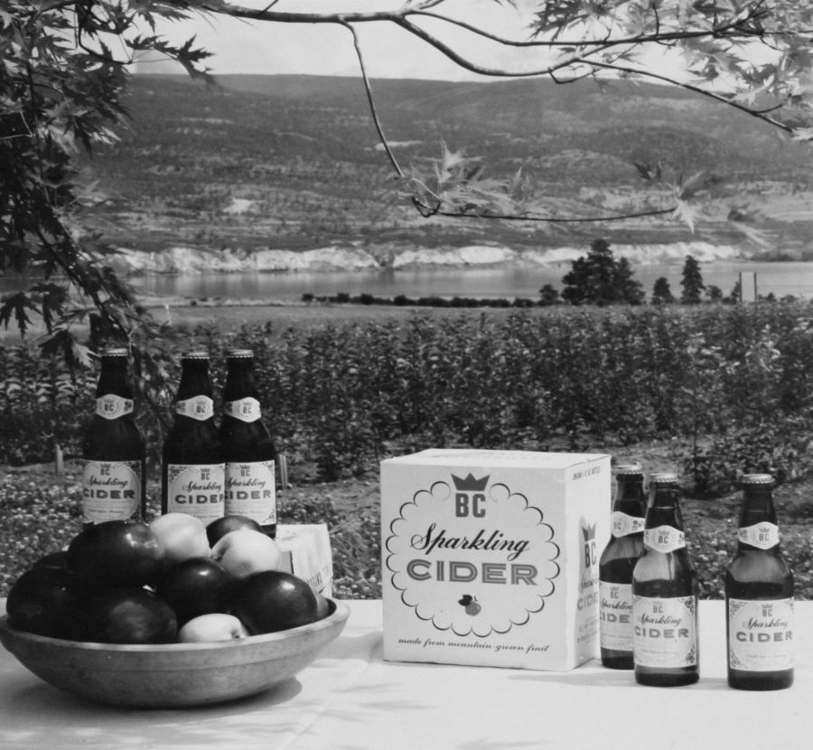 <who> Photo Credit: SunRype Products </who> SunRype launched Canada's first hard cider in the 1950's.