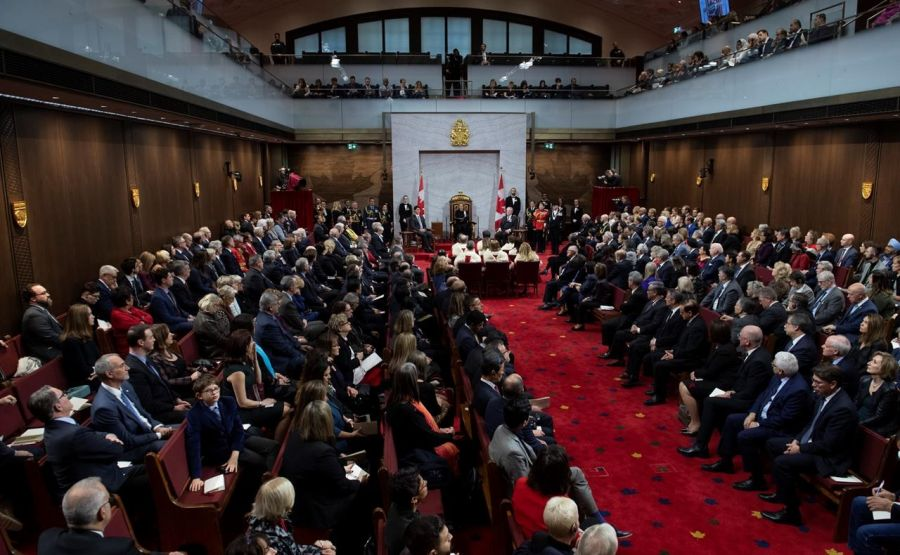 Liberals' throne speech announces plan to create a million jobs