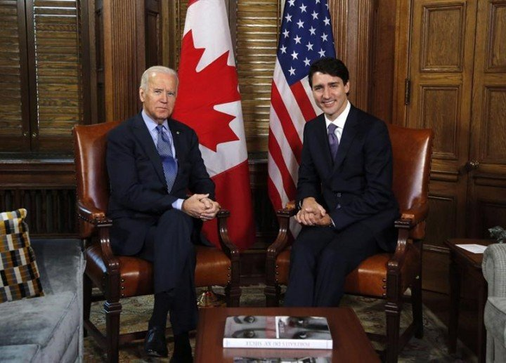 Trudeau, Biden Hold First Bilateral Meeting