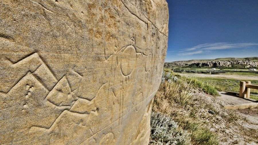 Writing on Stone Provincial Park named a UNESCO World Heritage Site today