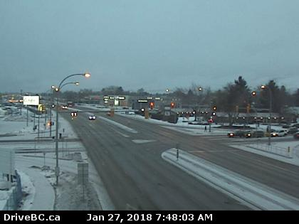 Here's a look at the road conditions across the BC Interior