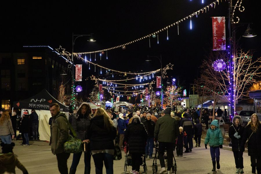 Downtown West Kelowna set to light up this weekend
