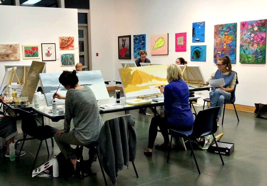 Adult Art Classes Now Available in Kelowna