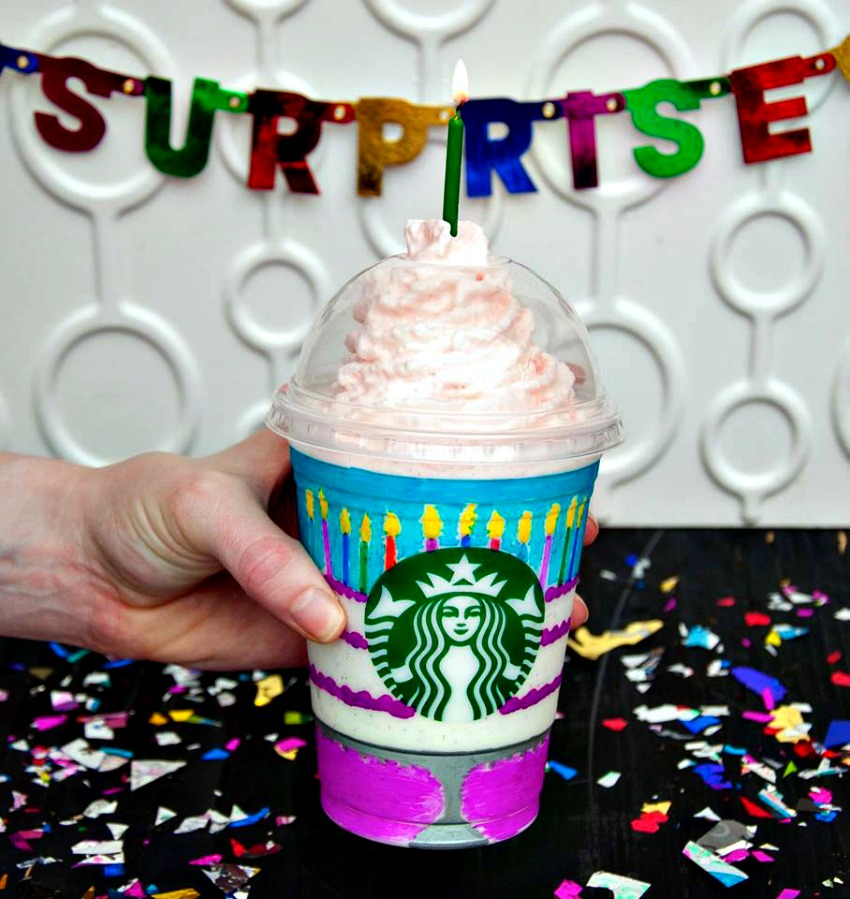 birthday cake frappuccino starbucks celebrates 20th birthday of frappuccino with new 1751
