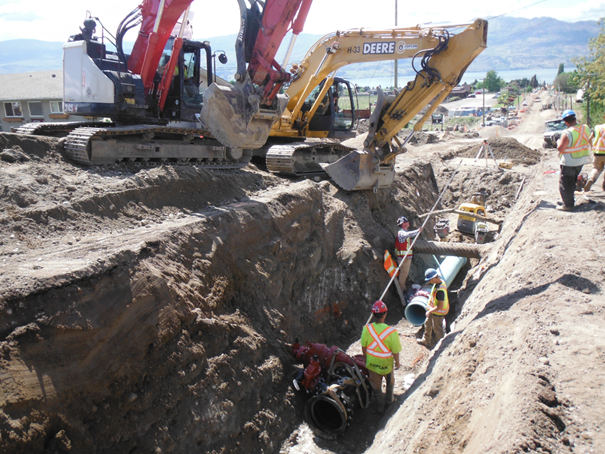 <who>Photo Credit: City of West Kelowna</who>Crews are busy at work.