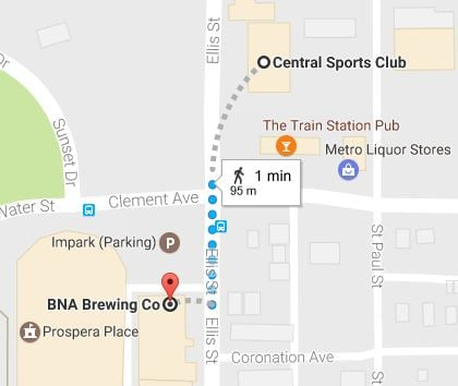 <who>Photo Credit: Google Maps</who>Jump across the intersection of Ellis and Clement to get from Central to BNA.