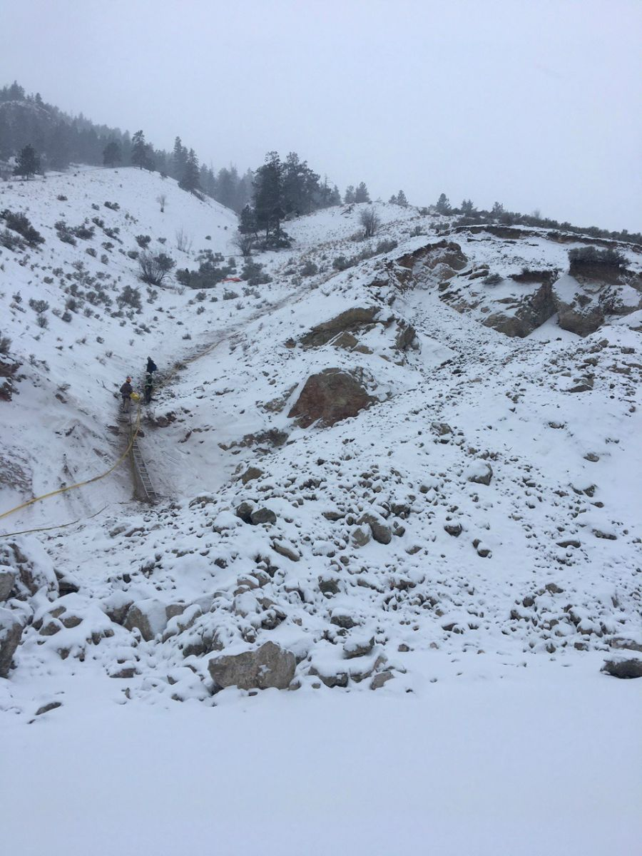 UPDATE: Hwy 97 expected to reopen to traffic within the week