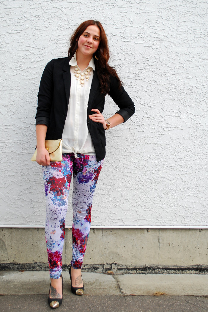 Ways to Wear: Floral Leggings