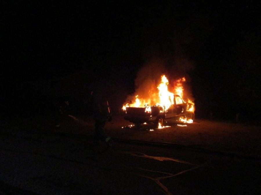 Truck stolen from West Kelowna found on fire in Vernon