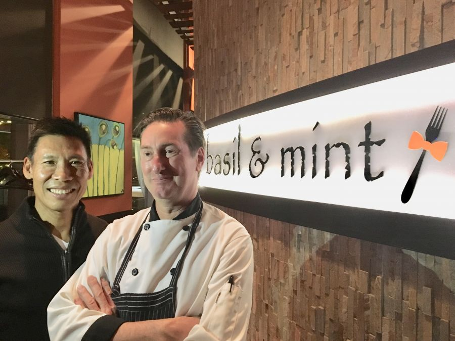 </who> Second picture Ken Cheung and Chef Peter McGeown