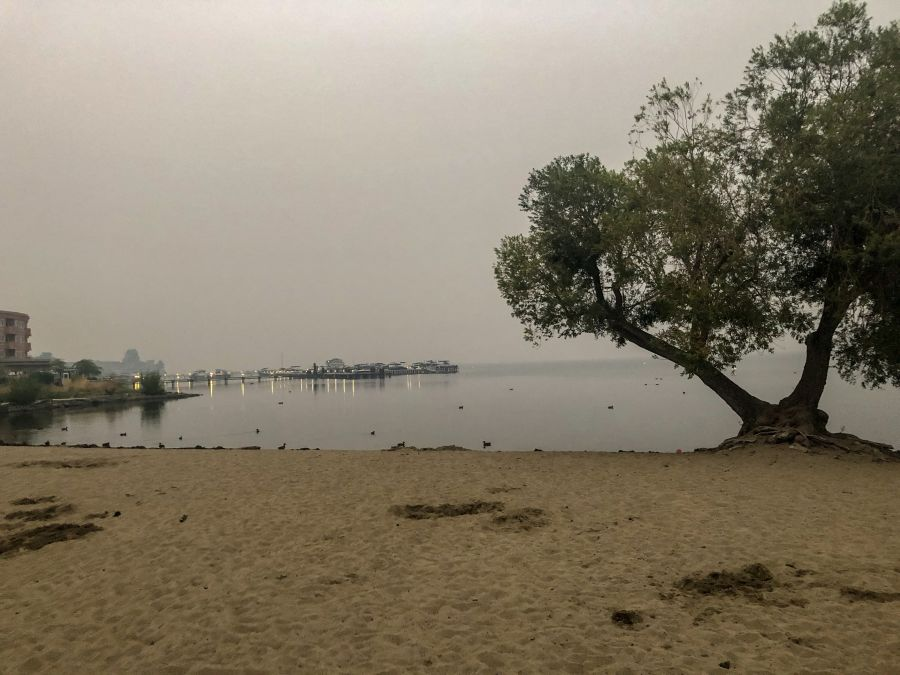 Smog, smoke prompt Spare the Air alert for Sunday