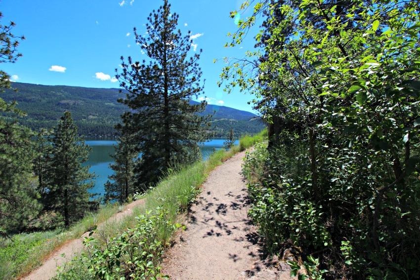 Turtle lake trail head
