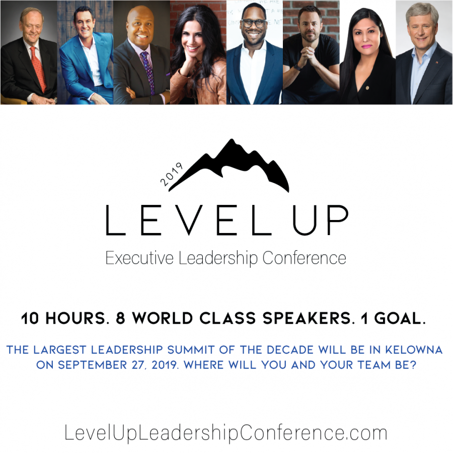 CONTEST CLOSED! Win a ticket to Level Up Leadership Conference!