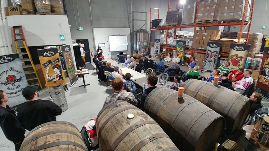 <who>Photo Credit: Bad Tattoo Brewing Company </who>Bad Tattoo Brewing Company is one of many raved about in Penticton in an article on the popular website BC Ale Trail.