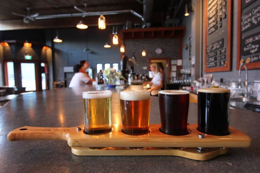 <who>Photo Credit: Facebook The Cannery Brewery </who>The website BC Ale Trail has written an article raving about the City of Penticton's burgeoning craft brew industry as well as the natural beauty of the city. The Cannery Brewery is just one of the many craft breweries mentioned in the article and attached YouTube video.