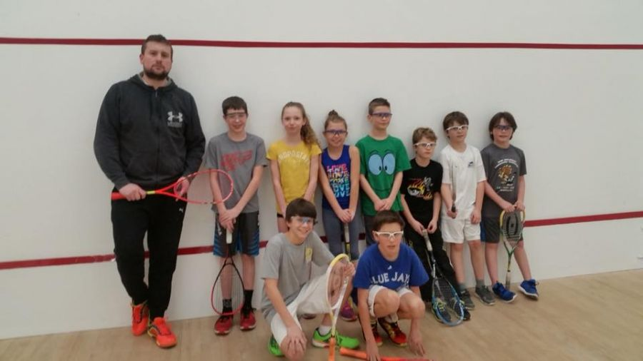 <who>Photo Credit: Facebook Interior Squash Academy </who>Veteran squash coach Adam Terheege, who runs the Interior Squash Academy, says the Lakeshore Racquets Club in Summerland has one of the best locations of any squash club in Canada on the shores of beautiful Okanagan Lake.