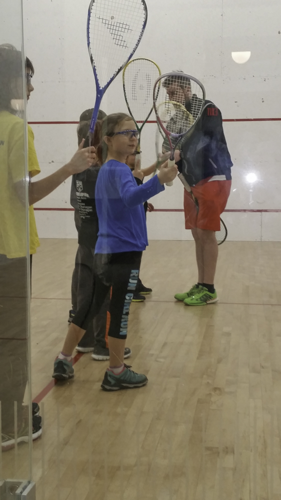 <who>Photo Credit: Contributed </who>Adam Terheege, the founder and owner of the B.C. Interior Squash Academy, has been running a junior program out of the Lakeshore Racquets Club in Summerland for the past three years. The club has started a membership drive to get more juniors and adults playing out of the facility that features three squash courts.