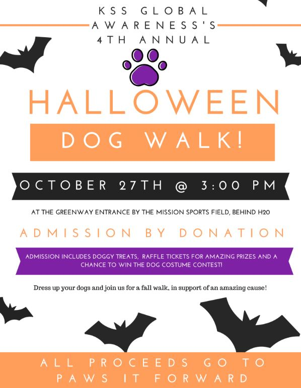 Kelowna high school students hosting Halloween dog walk for a great cause