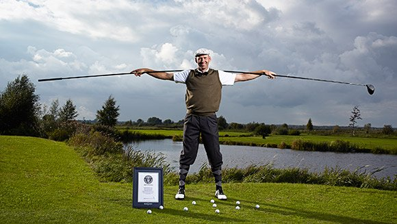 longest golf driver in the world