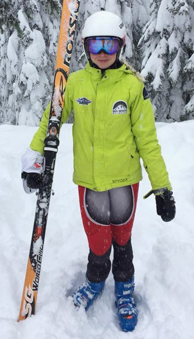 <who>Photo Credit: Contributed </who>Kiera Swift of Kelowna and the Big White Racers will compete <br>for Zone 2 at the BC Winter Games. She'll be joined by <br>teammates Finley Cashin, Maxwell Gainey, Blanka Gerloczy <br>and Shayna Little.