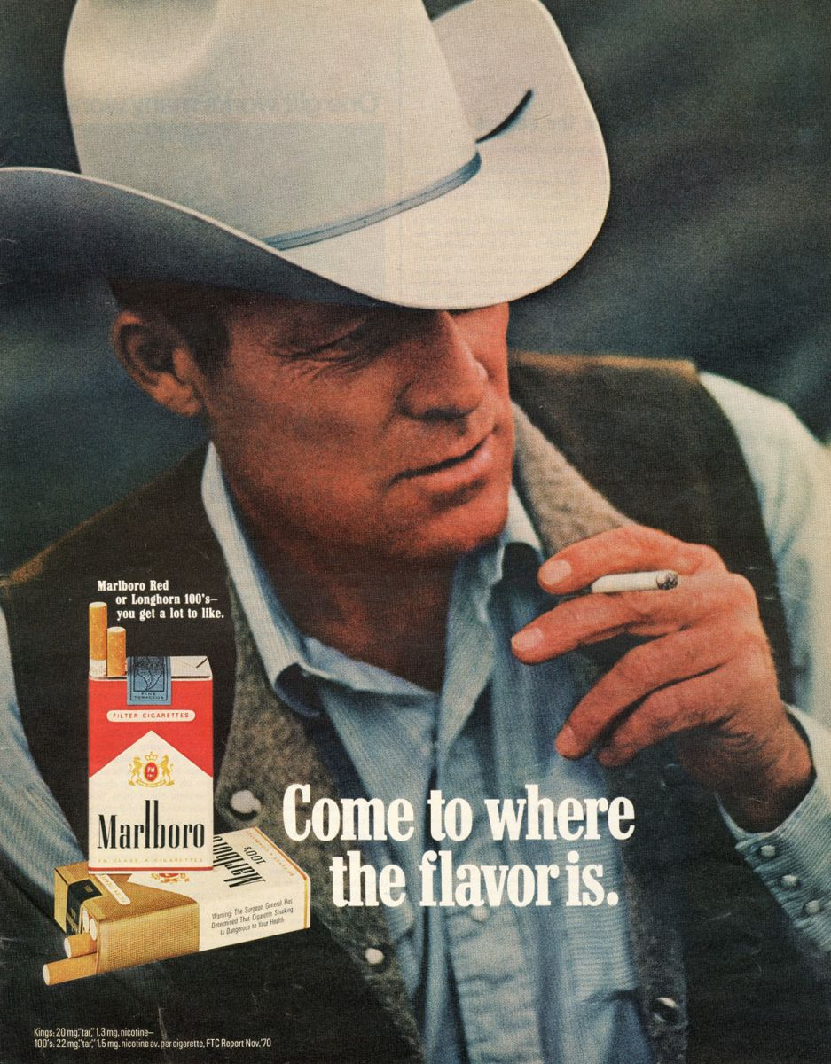 malboro man Darrell hugh winfield, one of the last marlboro men, died monday at his home in wyoming at age 85, the ap reports the macho marlboro man was introduced to advertise the cigarette brand in the 1950s.