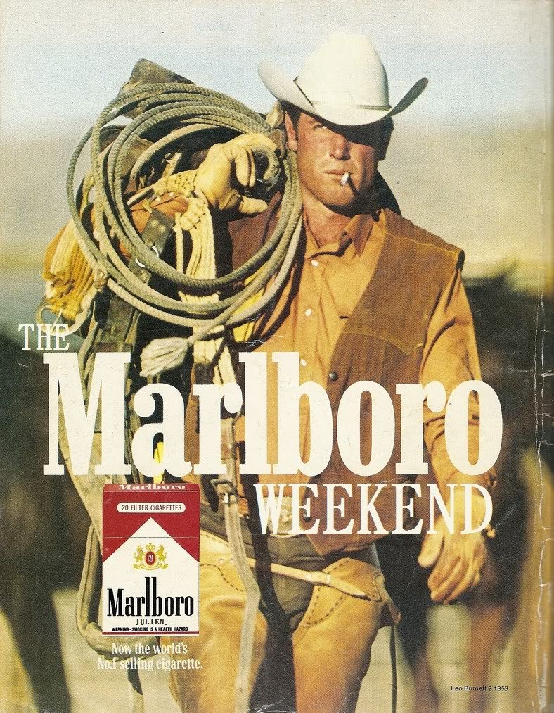 marlboro men 1971 marlboro cigarettes ad - marlboro man cowboy-this is a 1971 ad for a marlboro cigarettes the size of the ad is approximately the caption for this ad is 'marlboro' the ad is in good overall condition, with some light wear.