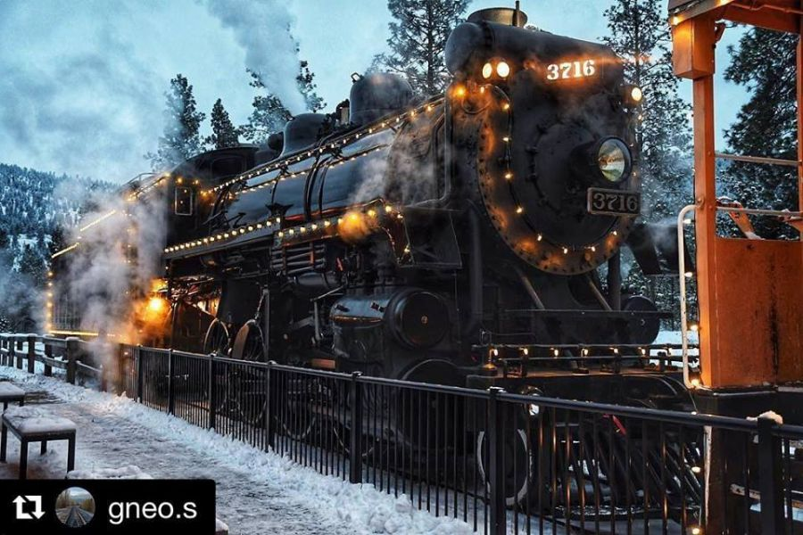 <who>Photo Credit: Facebook Kettle Valley Steam Railway </who>Gerry Conrad, a board member with the Kettle Valley Railway Society, informed District of Summerland council Monday evening about big plans to offer more special events and attract more customers.