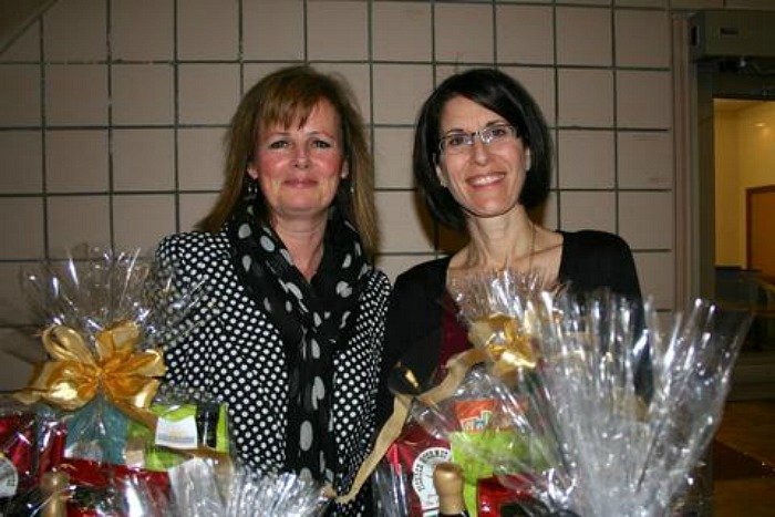 <who>Photo Credit: Contributed</who>Brighten Their Day Gift Basket Company - Mairead Fitzpatrick (L) and Jill Hotchkiss