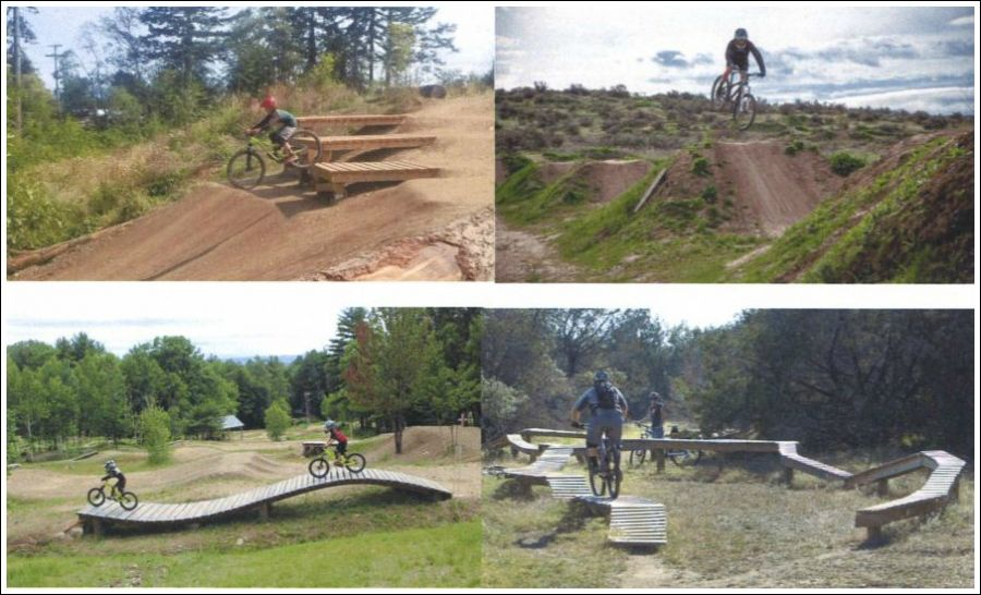 <who> Photo Credit: City of Penticton </who> The elements of a skills park.
