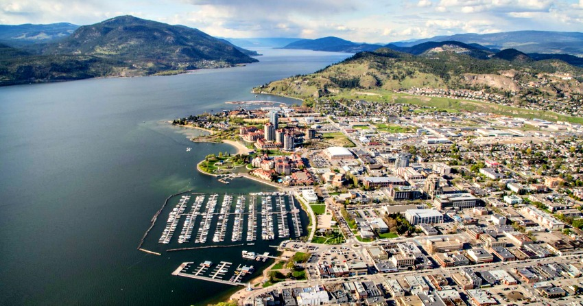 <who>Photo Credit: KelownaNow</who>One of our many photos from above Kelowna.