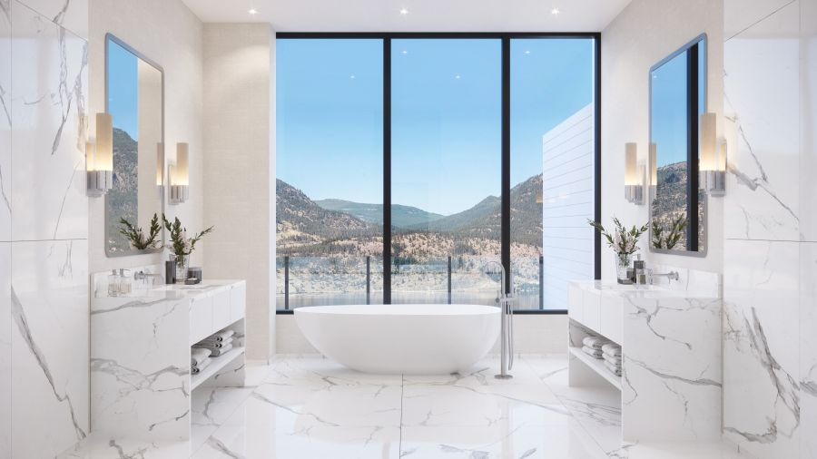 </who>Bath with a view.