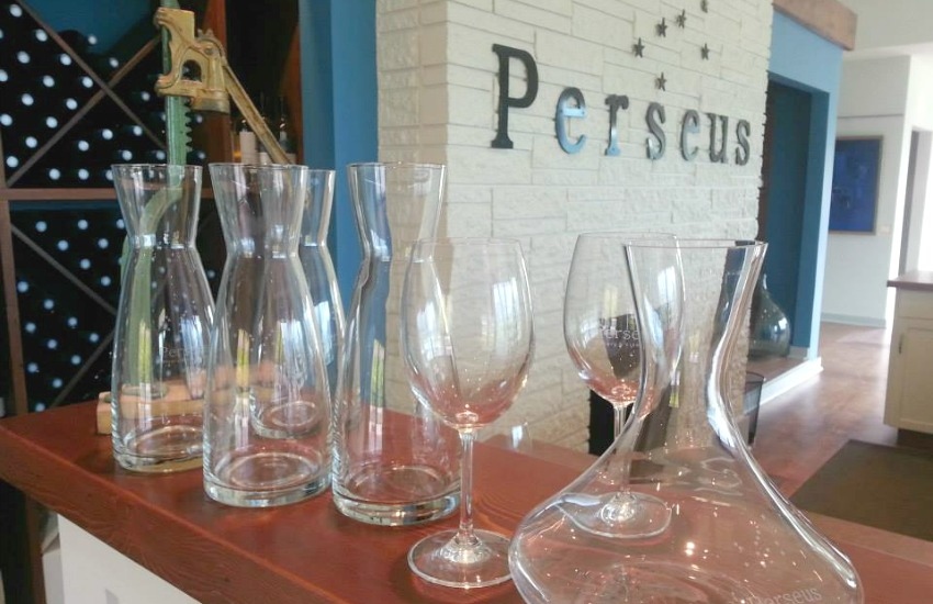 <who>Photo Credit: Perseus Winery Facebook