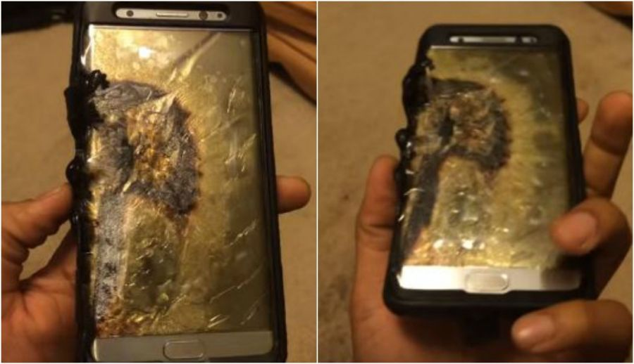 Samsung Galaxy Note 7 handsets banned from airline flights in US
