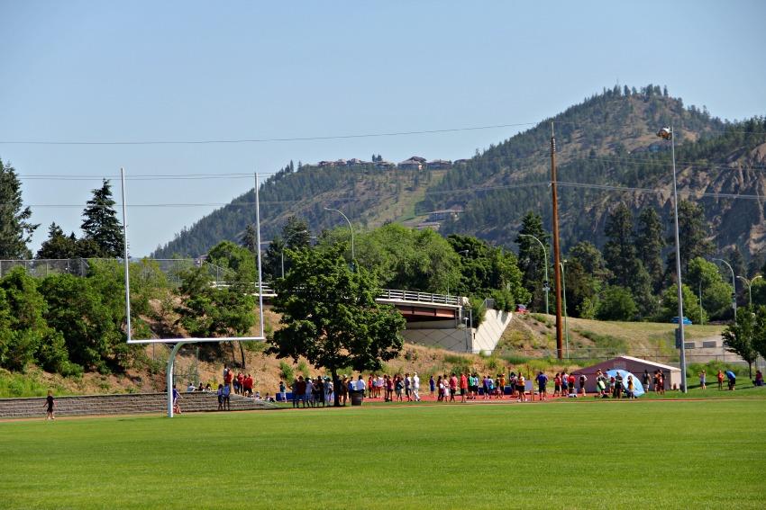 kelowna track and field meet